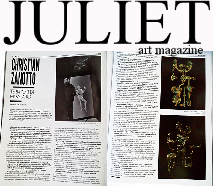 christian zanotto,juliet art magazine